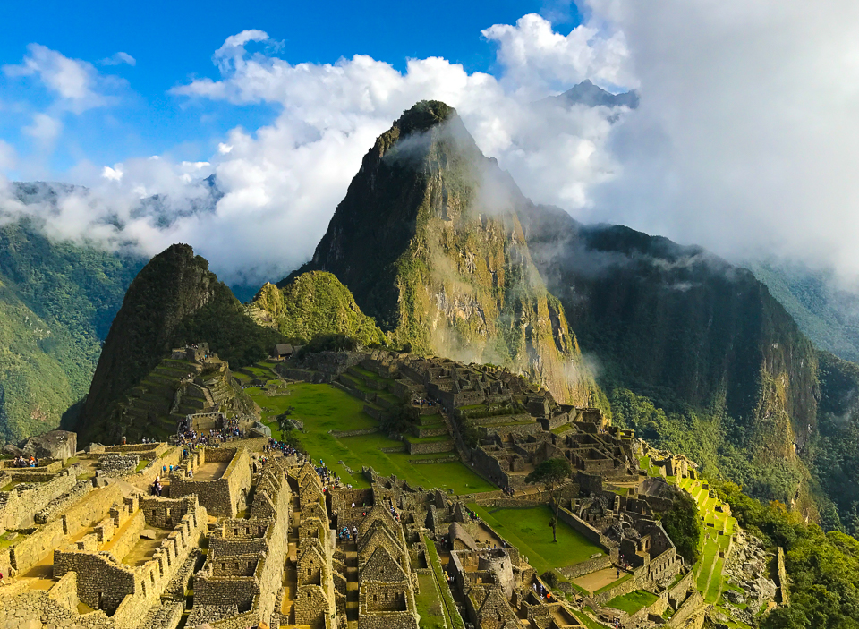 The Citadel of Machu Picchu