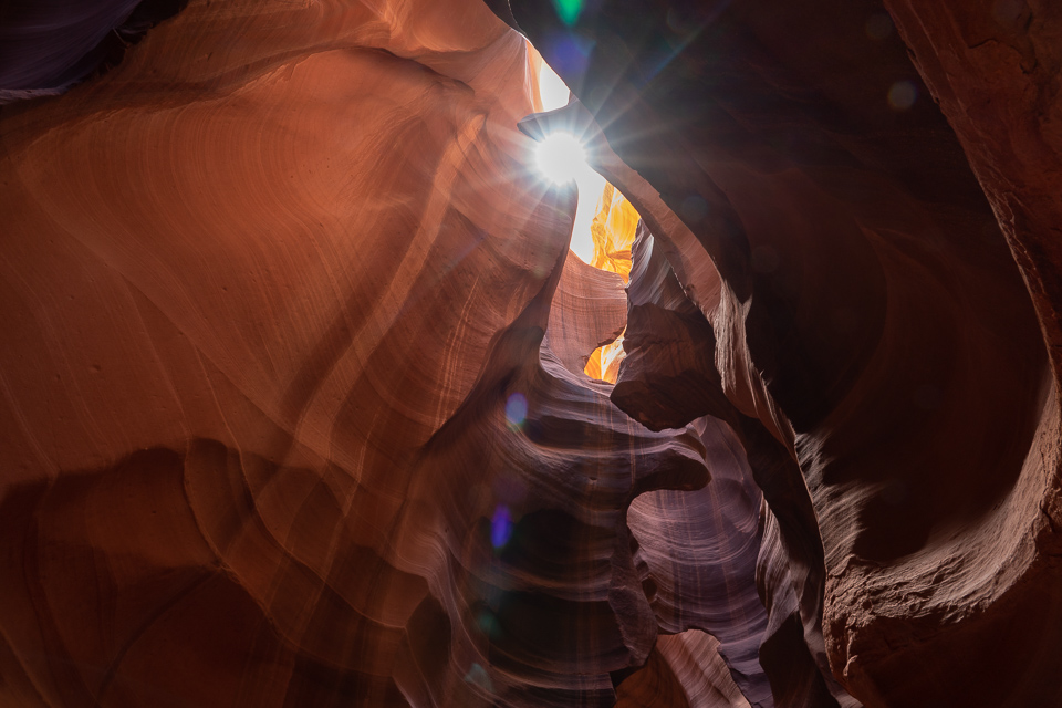 Upper Antelope Canyon, Arizona © Charles and Mary Love