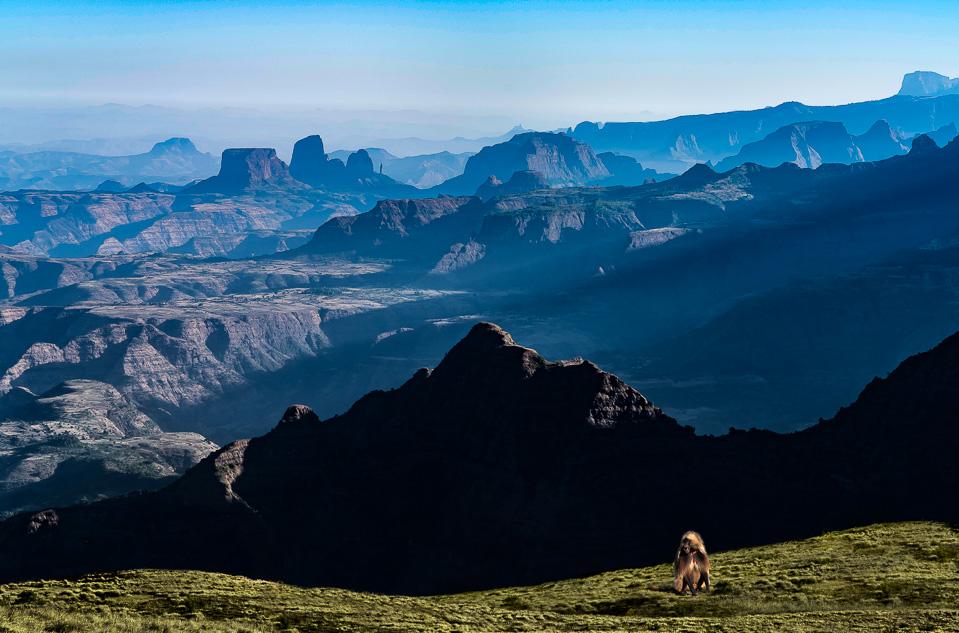 Simean Mountains © Charles & Mary Love