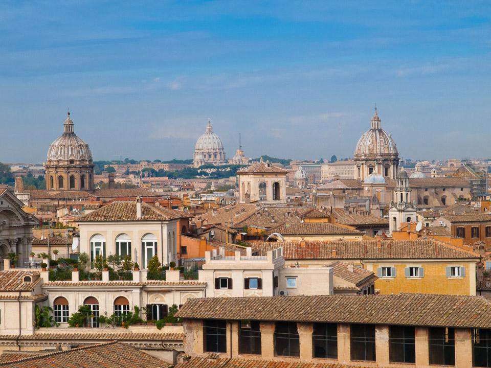 Rome Skyline © 2010 Charles & Mary Love