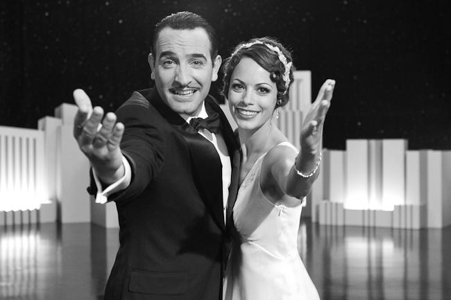"Jean Dujardin & Bérénice Bejo in ""The Artist."" Photo: Warner Bros."