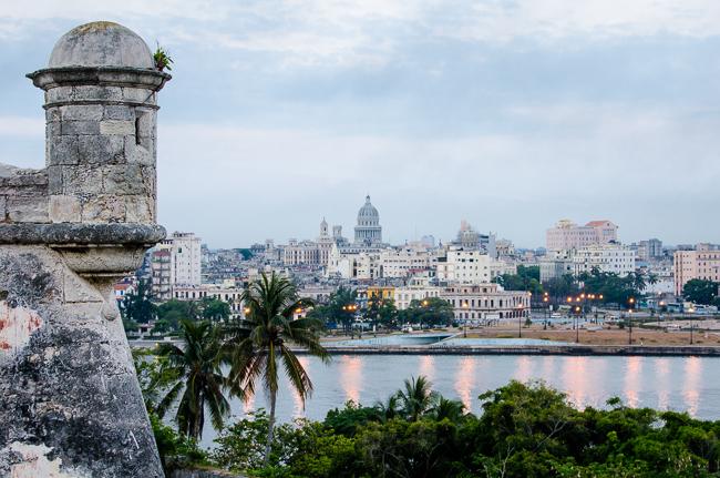View of Havana waterfront