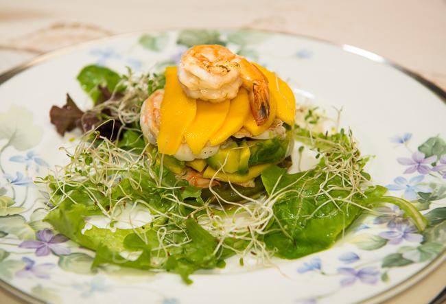 Mango Salad, Peninsula House