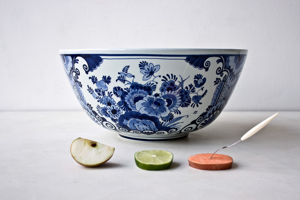 large bowl by Royal Delft
