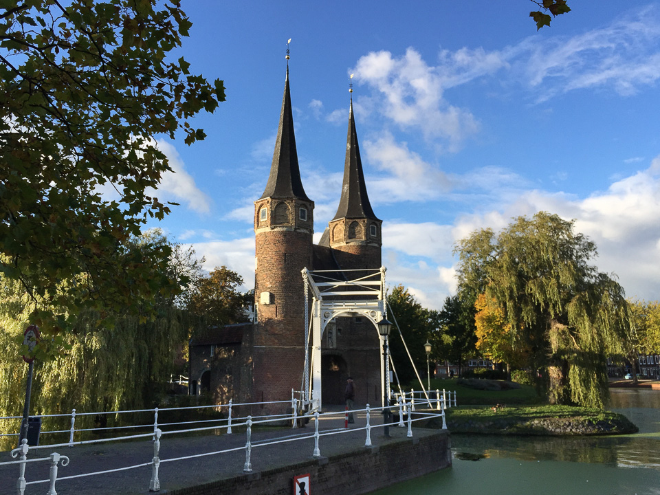 East Gate. Delft © Charles & Mary Love