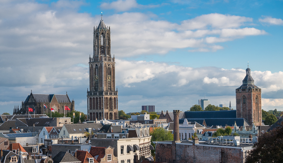 Utrecht's Dom Tower. © Charles & Mary Love 2016
