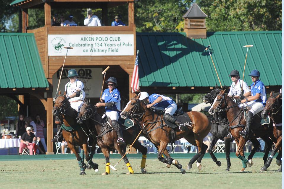 A polo match in Aiken. Copyright Pam Gleason
