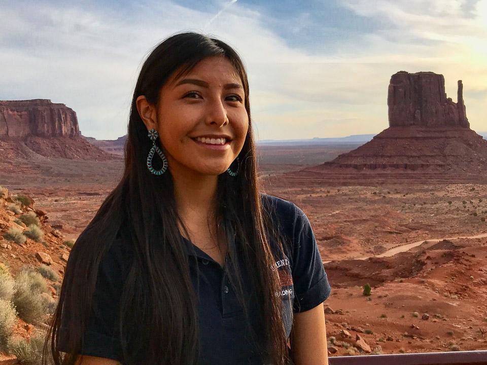 Navajo Woman, Monument Valley, Arizona © Charles & Mary Love