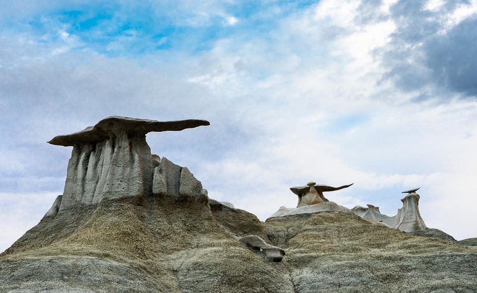 Bisti Badlands, New Mexico © Charles & Mary Love