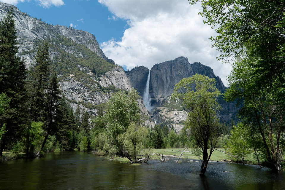 Merced River and Bridal Veil Falls © 2016 Charles & Mary Love