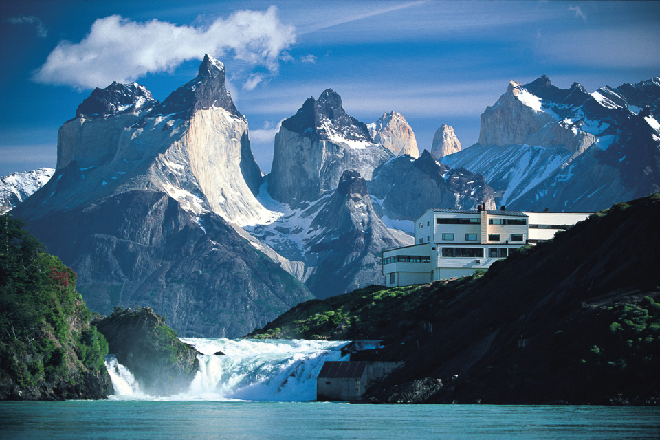 Explora Lodge at the base of Torres del Paine. Photo courtesy Explora.