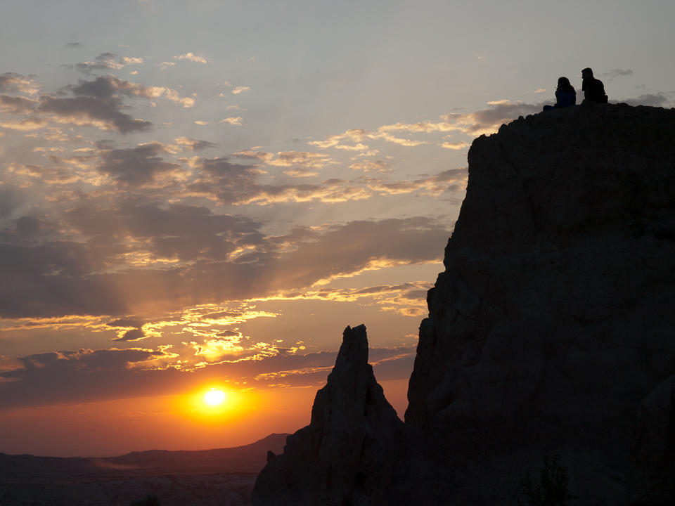 Sunset in Cappadocia © 2009 Charles & Mary Love