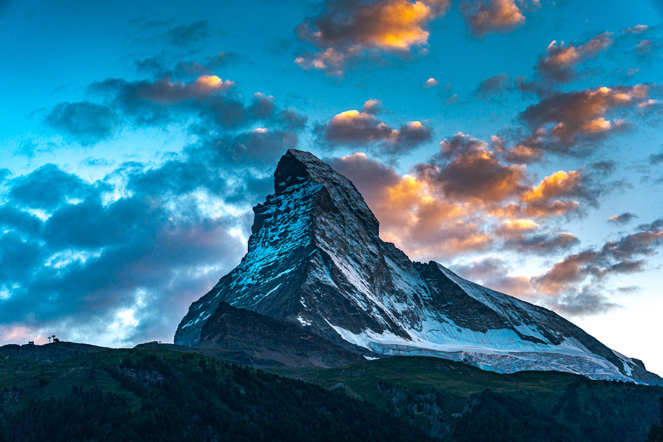The Matterhorn at Sunset © 2021 Charles & Mary Love